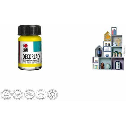 "Marabu Acryllack ""Decorlack"", mittelblau, 15 ml, im Glas"