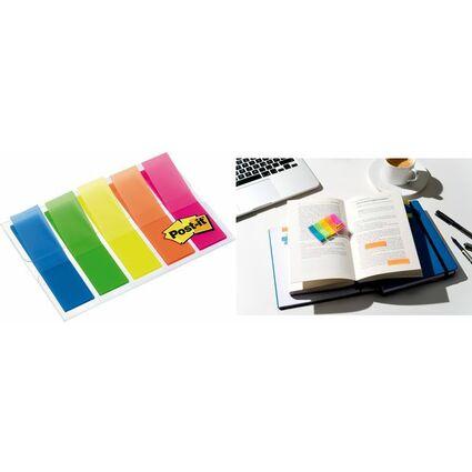 Post-it Haftmarker Index, 11,9 x 43,2 mm, 5-farbig