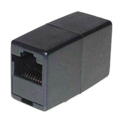 shiverpeaks BASIC-S Modular-IN-line Adapter, RJ12, schwarz