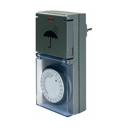 brennenstuhl Tageszeitschaltuhr MZ 44, IP 44, anthrazit, FR