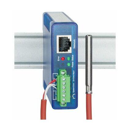 W&T Web-Thermograph Relais, 1 x RJ4510/100BaseTX Port, mit
