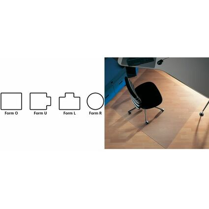 "RS Office Bodenschutzmatte ""Ecogrip"", (B)1200 x (T)1500 mm"