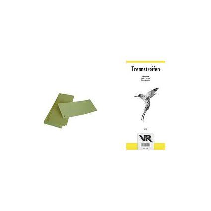 VIKTOR RICHTER Trennstreifen 148 x 230 mm, gelb, 180 g/qm
