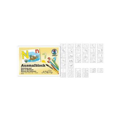 URSUS Ausmalblock, DIN A6, 36 Blatt