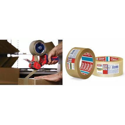 tesapack Verpackungsklebeband 4124, aus PVC, 19 mm x 66 m