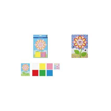 """URSUS Moosgummi-Mosaik """"Blume"""""""