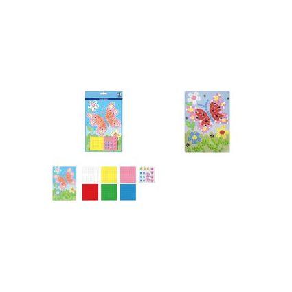 "URSUS Moosgummi-Mosaik ""Schmetterling"""