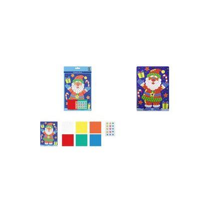 """URSUS Moosgummi-Mosaik """"Weihnachtsmann"""""""