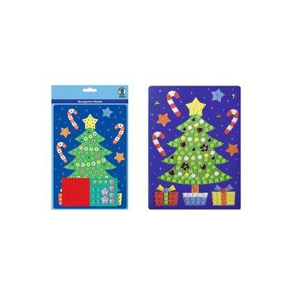 """URSUS Moosgummi-Mosaik """"Weihnachtsbaum"""""""