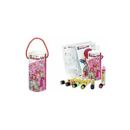 "Marabu Window Color ""fun & fancy"", Set Princess' World"