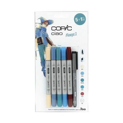 COPIC Hobbymarker ciao 5+1 Set, Manga 2