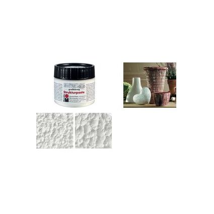Marabu Strukturpaste, grobkörnig, 100 ml, in Kunststoffdose