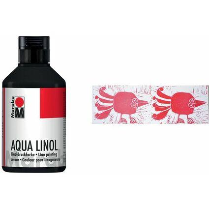 Marabu Aqua-Linoldruckfarbe, mittelbraun, 250 ml