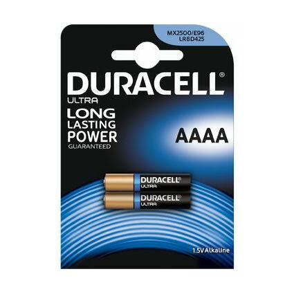 """DURACELL Alkaline Batterie """"Ultra"""", Quart (AAAA/MN2500/LR61)"""