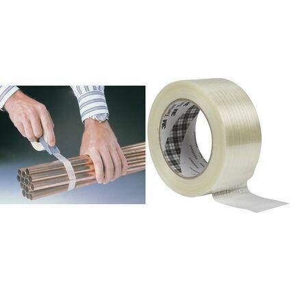 Tartan Filament-Klebeband 8953, 50 mm x 50 m, transparent