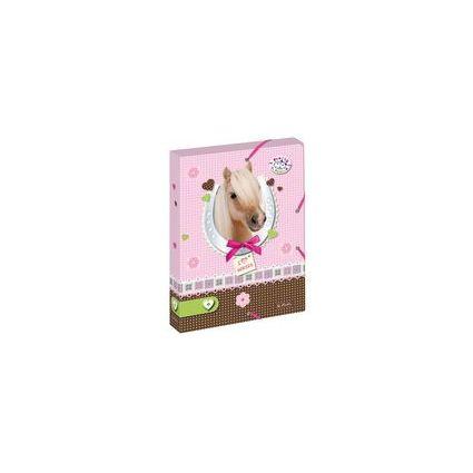 """herlitz Heftbox Pretty Pets """"Hund"""", DIN A4, aus PP"""