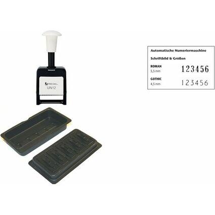 Rexel Tinten-Nachfülleinheit, schwarz