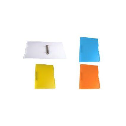 dataplus Ringbuch Trend, aus Kunststoff, orange-transparent