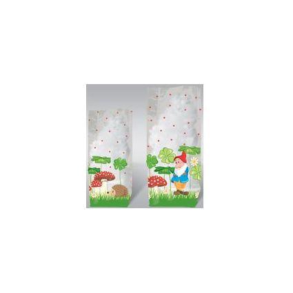 "URSUS Zellglasbeutel ""Glückspilz"", Maße: (B)115 x (H)190 mm"