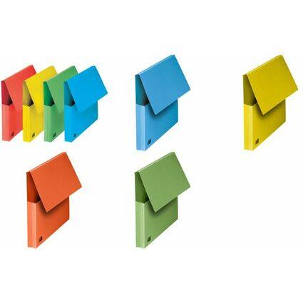 FAST Dokumententasche, DIN A4, Karton, pastell-blau