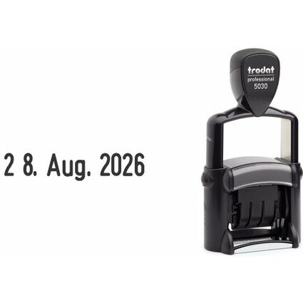 trodat Datumstempel Professional 5030, selbstfärbend,schwarz