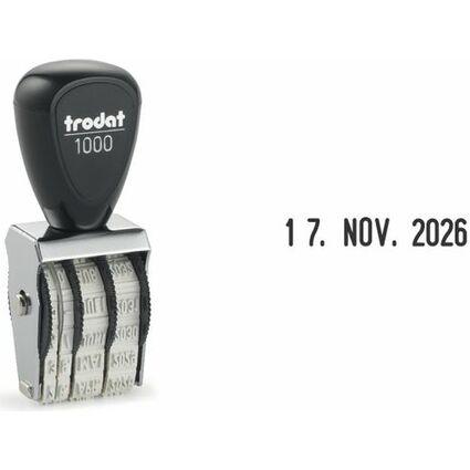 trodat Datumstempel 1000, Abdruckgröße: 3 x 18 mm, SB-