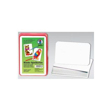 URSUS Blanko-Spielkarten, zum Selbstgestalten