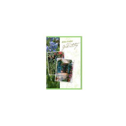 HORN Geburtstagskarte - Gebundenes Herz - inkl. Umschlag