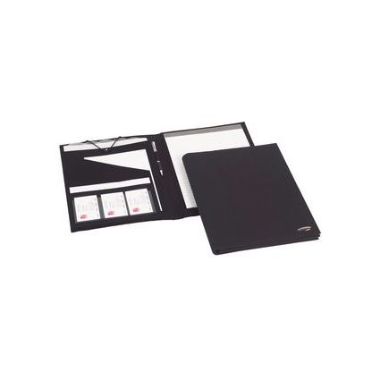 Rexel Konferenzmappe Soft-Touch, DIN A4, schwarz