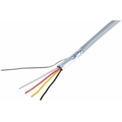 shiverpeaks BASIC-S Telefonkabel, grau, 100 m, 12-adrig