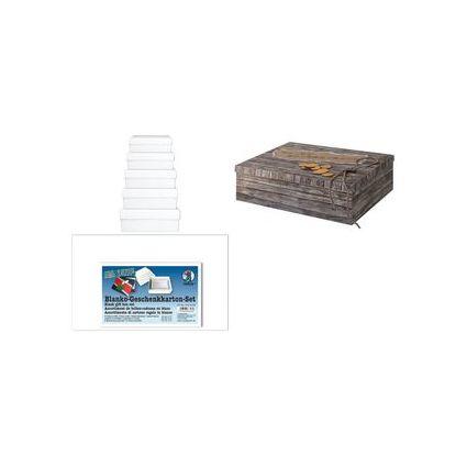 "URSUS Blanko-Geschenkbox ""rechteckig"", 5er-Set"