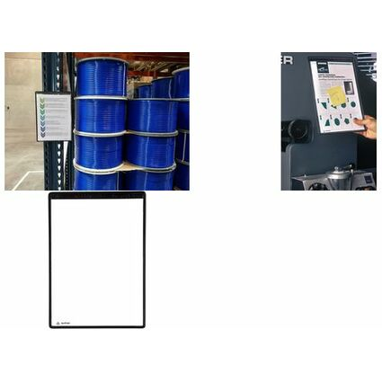 tarifold tview Magnet-Sichttafel, DIN A4, schwarz