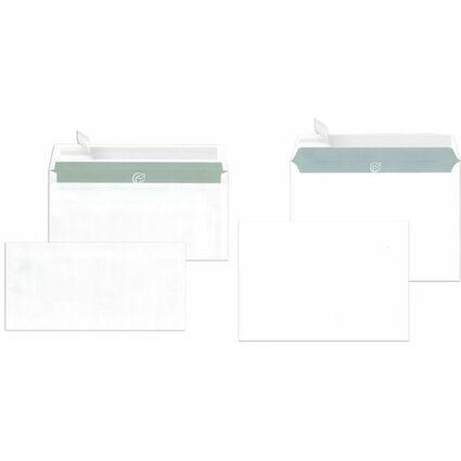 MAILmedia Briefumschläge C5 haftklebend, 100 g/qm, weiß