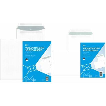 MAILmedia Versandtasche Offset weiß, C5, ohne Fenster