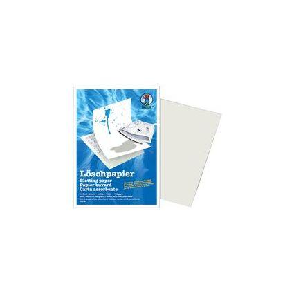 URSUS Löschpapierblock, DIN A4, 135 g/qm, weiß