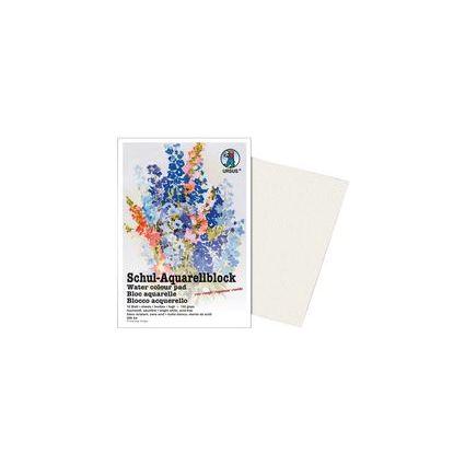 URSUS Schul-Aquarellblock, DIN A4, 150 g/qm, hochweiß