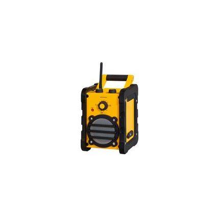 CLATRONIC UKW/MW Baustellenradio BR 816
