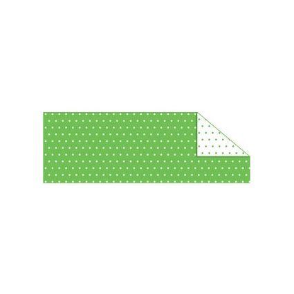 """URSUS Fotokarton """"Pünktchen mini"""", 300 g/qm, grün/weiß"""