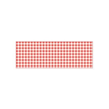 "URSUS Fotokarton ""Karo mini"", 300 g/qm, rot/weiß"