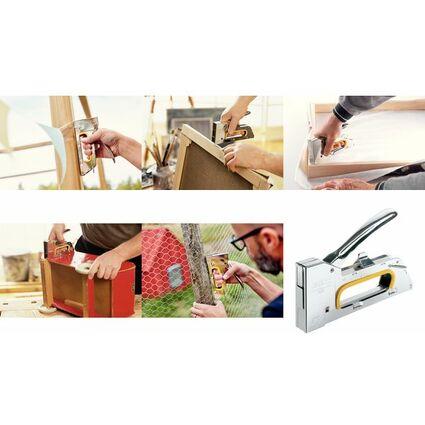 Rapid Handtacker PRO R23E ergonomic, aus Stahl