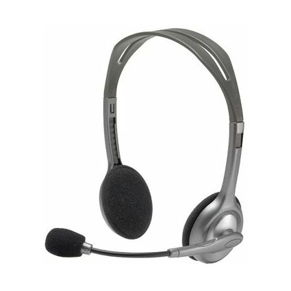 Logitech Stereo Headset H110, 2 x 3,5 mm Klinkenstecker