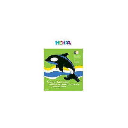 HEYDA Fotokarton-Bastelmappe, (B)250 x (H)350 mm