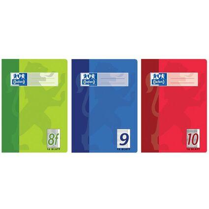 Oxford Schulheft, DIN A5, Lineatur 27 / liniert, 16 Blatt