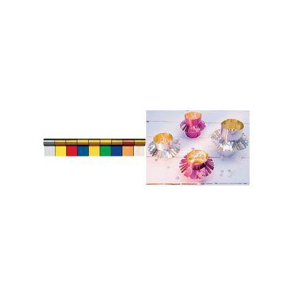 HEYDA Alu-Bastelfolie, (B)500 x (L)780 mm, rot/gold