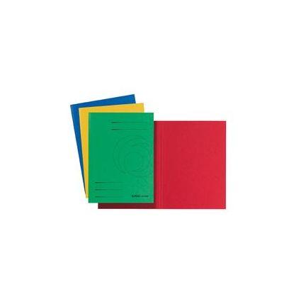 herlitz Aktendeckel easyorga, DIN A4, Colorspankarton, blau