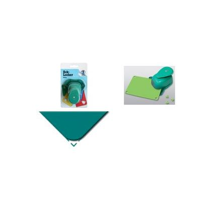 """URSUS Eck-Motivlocher """"Rund"""", klein, Farbe: grün"""