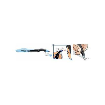 Maped Kugelschreiber Visio Pen für Linkshänder, weiß/schwarz