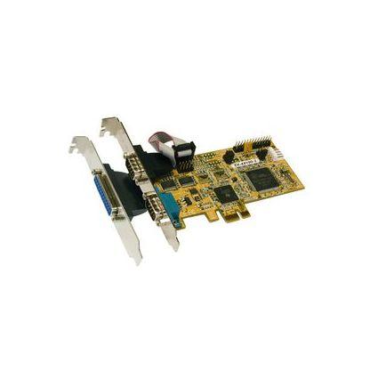 EXSYS Seriell/Parallel 16C950 EPP/ECP PCI-Express Karte