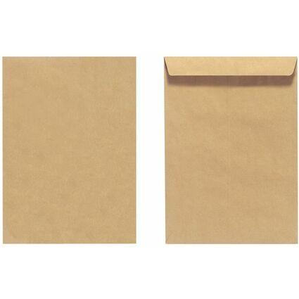 herlitz Versandtasche, DIN B4, ohne Fenster, braun