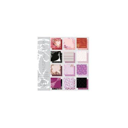 """URSUS Scrapbooking-Papier-Block Premium Glitter """"Version 2"""""""